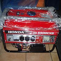Поддельный бензогенератор Honda EM5500CXS