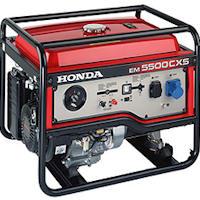 Настоящий бензогенератор Honda EM5500CXS